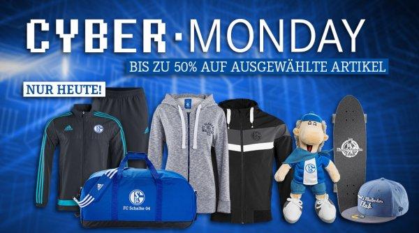 Cyber Monday S04-Shop (Gratis Trikot-Flock/Mütze 5€/ 50% auf ausgewählt Artikel)