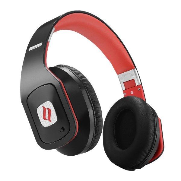 [Poppstar] Noontec Hammo Go Votrik HD 500  Kopfhörer SCCB Audio Technologie mit Mikrofon und Noise Cancelling unterdrückt Nebengeräusche schwarz/rot oder weiß