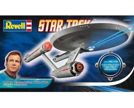 Revell USS Enterprise + Schlachtkreuzer D7 Bausatz für 14,99€ versandkostenfrei bei SMDV