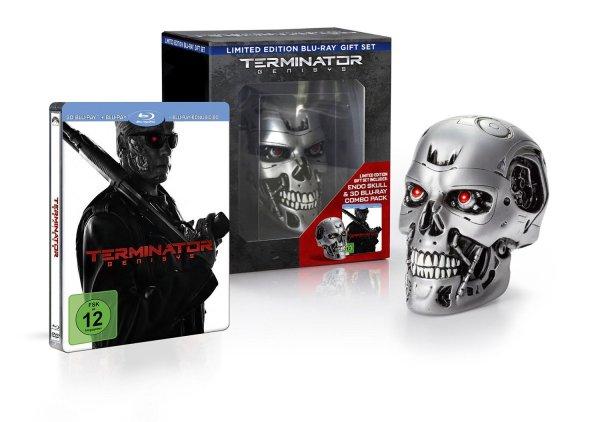 Terminator: Genisys Skull & 3D Steelbook (Blu-ray) [Limited amazon Edition] - lieferbar ab 08.12.