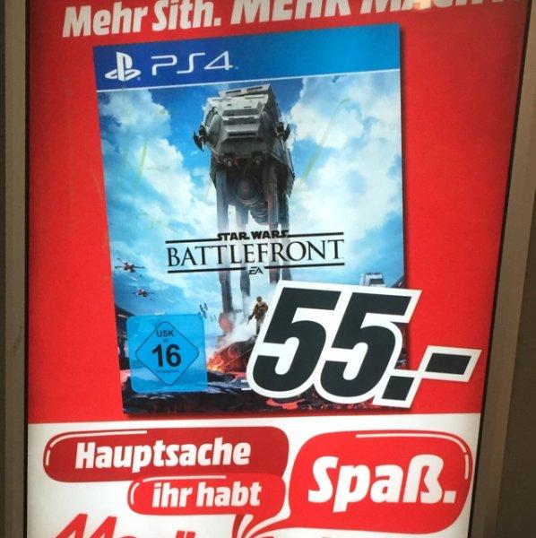Battlefront PS4 Mediamarkt Lokal HH?