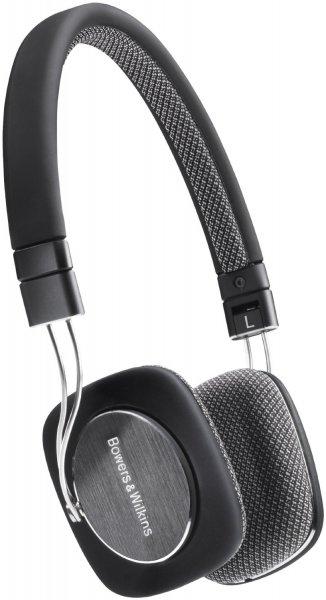 [Gravis] Bowers & Wilkins P3 mobiles Hi-Fi On-Ear-Headset, faltbar, schwarz-grau
