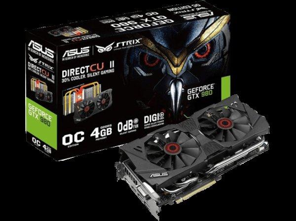 [Saturn.at] ASUS STRIX Geforce GTX 980 DC2OC 4GD5 (476,99€ mit Cashback und Versand nach Deutschland)