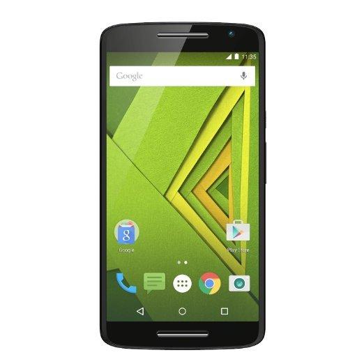 Moto X Play Smartphone (13,9 cm (5,5 Zoll) Display, 2 GB RAM, 16 GB Speicher, Android 5.1) schwarz inkl.Vsk für 285,68 € > [amazon.it Blitzangebot]