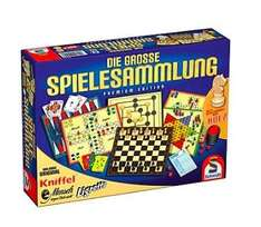 Schmidt-Spiele Die große Spielesammlung Premium Edition für 13,89€ bei Brands4friends