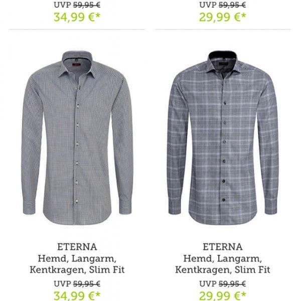 B4f Eterna Hemden für 25 oder mehr Euro.