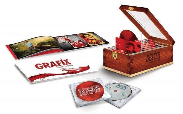 (amazon.de Blitzangebot) Dexter - Die komplette Serie (Blu-ray Bloodslide-Box) für 134,97€