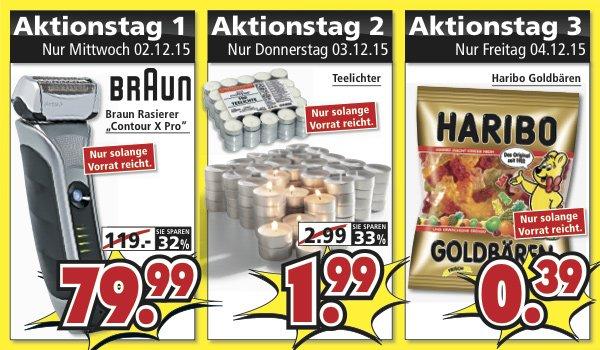 [Segmüller] Braun Contour XPro für 79,99€ und Haribo Goldbären für 0,39€