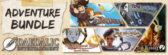 [steam] Daedalic Adventure Bundle - 5 Games inkl. Memoria für 4.99€ @ steam