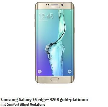 Samsung Galaxy S6 Edge+ 32GB - Comfort Allnet Vodafone (MD) - 29,99€ monatlich + 69€ Zuzahlung+ 29€ Anschlusspreis + Galxaxy Grand Prime