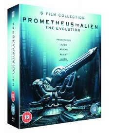 [Amazon.co.uk] Prometheus to Alien: The Evolution Box Set (8-Disc Blu-Ray Set)