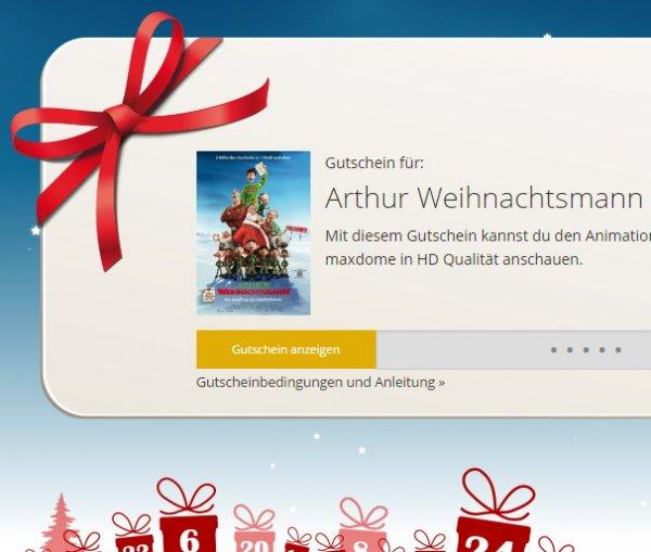 [Maxdome] Arthur Weihnachtsmann HD kostenlos anschauen