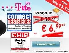 Internet-Flat LTE 3000, D1, € 6,99 / Monat