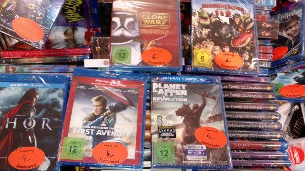 Expert Bening Minden:  Bluray 3D:  Thor, First Avenger  4€