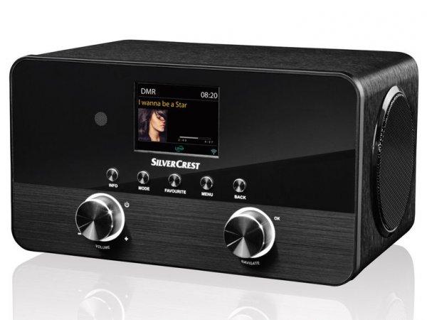 (Lidl) SILVERCREST® Stereo-Internetradio SIRD 14 C1 - 4 in 1 für 99,99€ ab 10.12.2015 online und in der Filiale