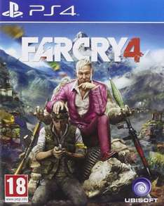 Far Cry 4 PS4 @ Amazon
