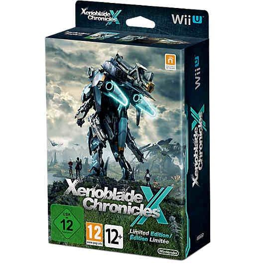 Xenoblade Chronicals X Wii U Limited Edition inkl. Steelbook,Artbook,Landkarte u. Poster 50,94€ Neukunden