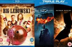 ?Zavvi.de?The Big Lebowski / Batman begins / The Dark Knight zusammen für 12€ inkl. Versand