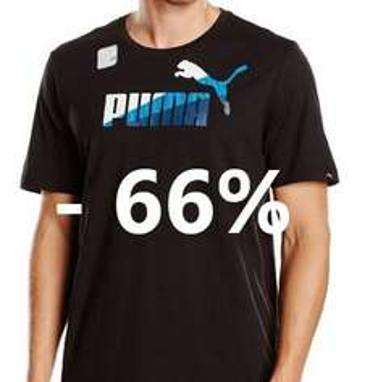 [Amazon.de] Puma T-Shirts in Größe M/L um 66% reduziert