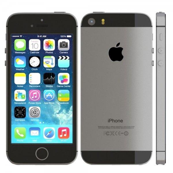 [Saturn.de] Apple Iphone 5s - 16GB - NEU/OVP für 384,- (schwarz und silber) + qipu