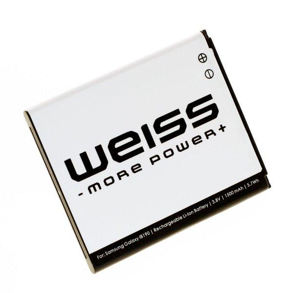 Weiss S3 Mini Akku für 8,99€ statt 13,99€, S4 Mini Akku für 10,99€ statt 15,99€ bei Amazon