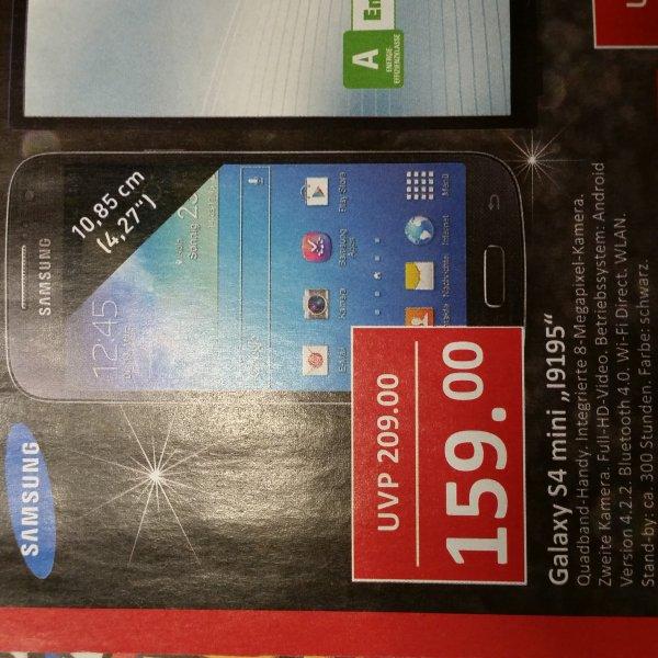 [Edeka Czaikowski] Galaxy S4 Mini I9195 für 159 €