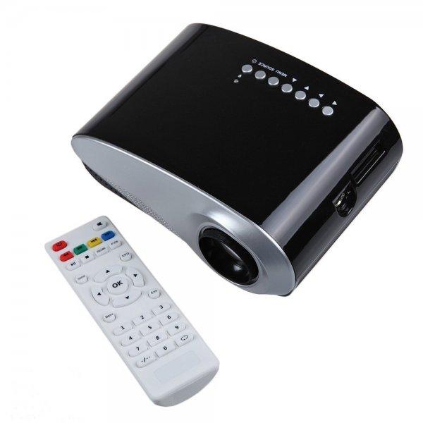 Mini Beamer von DBPOWER (Amazon) - HDMI, USB etc.