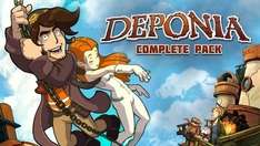 [STEAM] Deponia Complete Pack @BundleStars