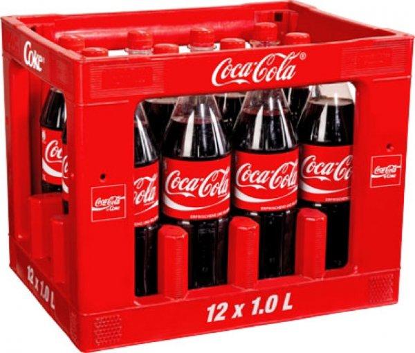 Coca Cola 1l für 62ct plus Pfand - Kaufland