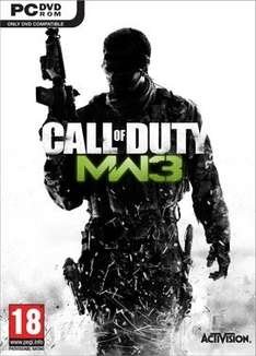 Call of Duty: Modern Warfare 3 Uncut COD MW3 Steam @Kinguin für 5,40€ nur mit PP