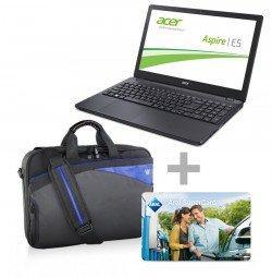 Acer Aspire E5-551G-869Z Notebook (idealo: 448,99€)+ V7 Notebook Tasche + 20 EUR ARAL Tank Gutschein für 399€