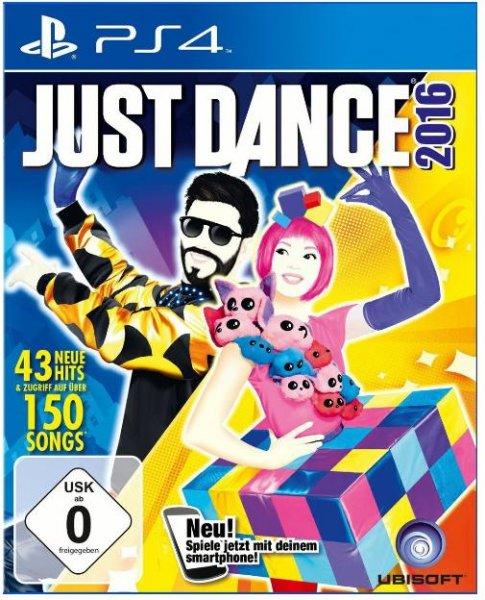 Just Dance 2016 für Wii 20 €  & Wii U / PS4  für je 25 € bei allen Müller Filialen