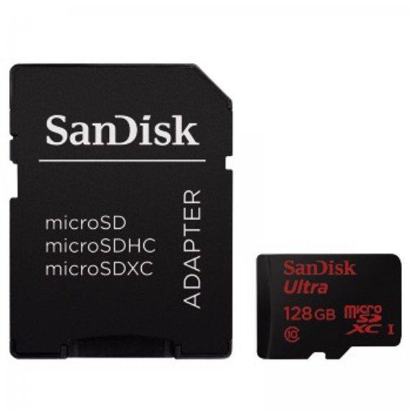 [Ebay] 128GB Sandisk Ultra microSDXC inkl Adapter 40,99€ Vskf