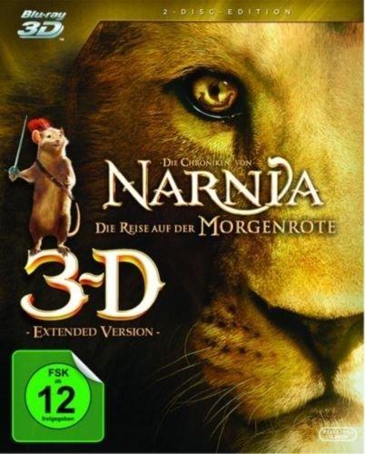 Die Chroniken von Narnia - Die Reise auf der Morgenröte (3D Blu-ray) für 9,99€ bei eBay