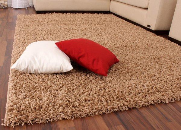 Hochflor Shaggy Langflor Teppich versch. Farben u. Größen NEU & OVP ab 3,90 € versandkostenfrei [TeppichCenter24]