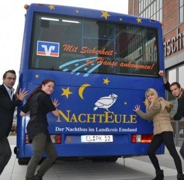 """[lokal] Mit der """"NachtEule"""" am Nikolaus-Wochenende kostenlos durchs Emsland"""