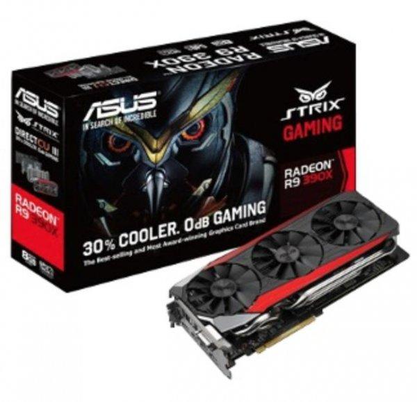 ASUS STRIX Radeon R9 390X DC3OC 8GB Sofort Lieferbar mit Cashback & Gutschein