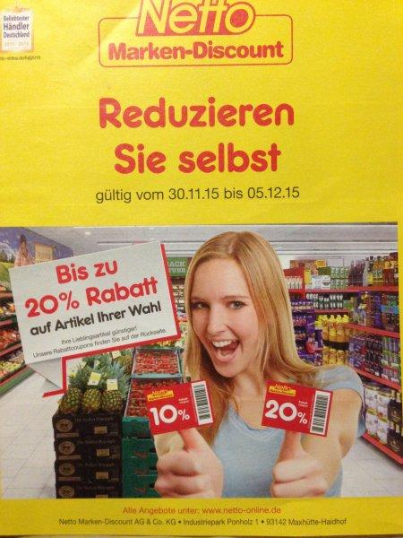 Netto - Bis zu 20% Rabatt!