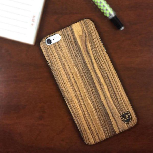 "[Amazon] Utection iPhone Holzhülle ""Crust"" 2 für 1 inkl. Versand €17,99"