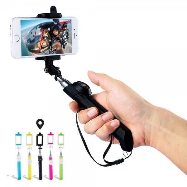 [Amazon.de] DB Power Selfie Stick mit abnehmbaren Bluetooth Fernauslöser für 6,38 in verschiedenen Farben