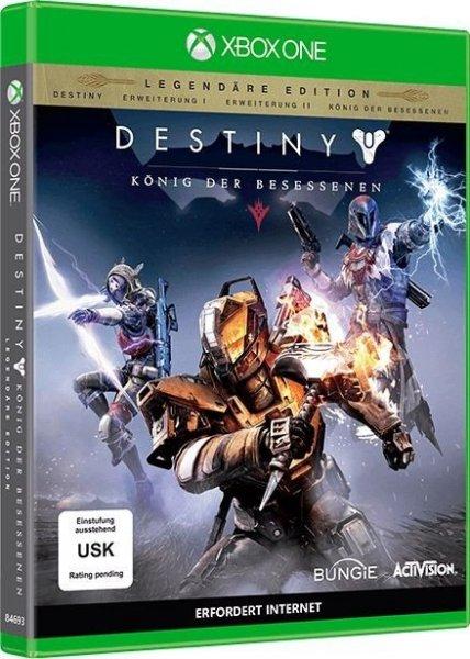 [4u2play] Destiny König der Besessenen - Legendary Edition (Xbox One) ab 31,99€ (auch PS4)