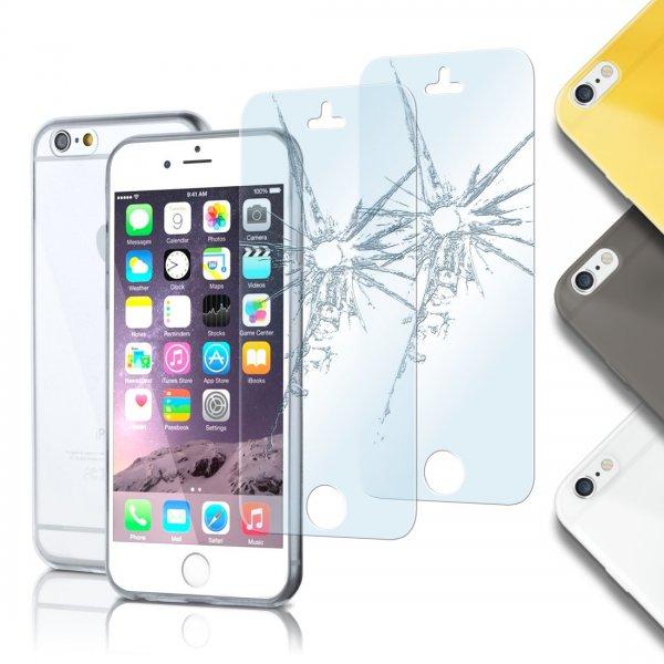 [eBay] AERO-CASE inkl. 2 PANZERFOLIEN (aus Glas) für viele Handymodelle für nur 3,99€ (kostenloser Versand aus DE) +++ AKTION: *2 KAUFEN, 1 GRATIS*