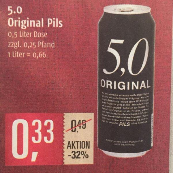 [Marktkauf] [lokal?] 5,0 Original Pils 0,33€