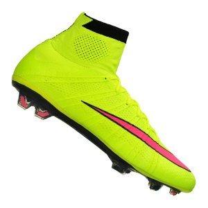 [@11teamsports.de] 50% auf ausgewählte Nike Fußballschule Nike Mercurial Superfly FG Gelb Pink F760 für 139,98€