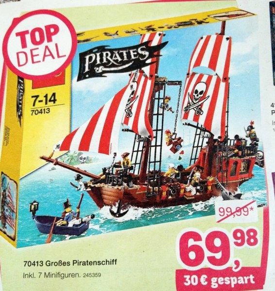 [toys r us] LEGO Großes Piratenschiff 70413 für 69,98 EUR ab 10.12.15