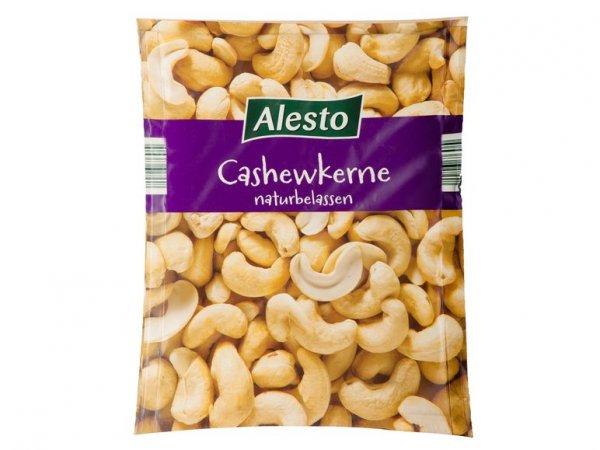 LIDL Alesto Cashewkerne, Paranüsse, Nuts Royal naturbelassen für 2,19€/200g