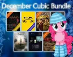December Cubic Bundle (STEAM / 7 Spiele, 3x Trading Cards)