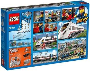 Lego 60051 City Hochgeschwindigkeitszug