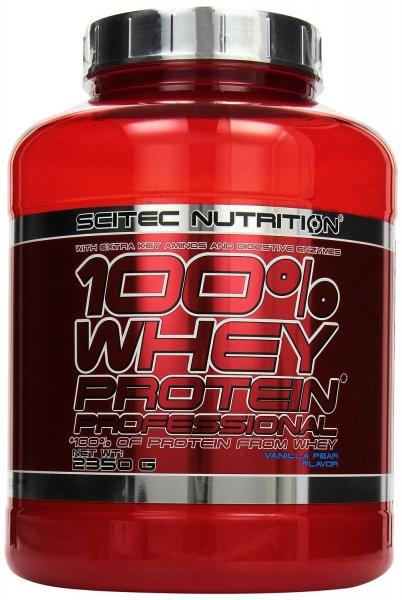 @Amazon Scitec Nutrition Whey Protein Professional Vanilla Pear, (1 x 2.35 kg) für 28,22€ (12€ je KG)