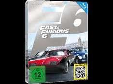 Fast & Furious 6 (Steelbook Edition) [Blu-ray] @ media markt VSK frei